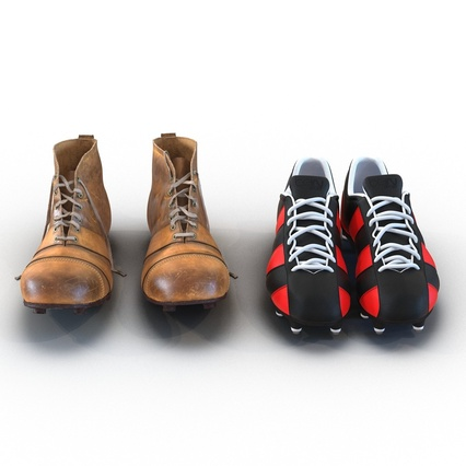 Football Boots Collection. Render 9