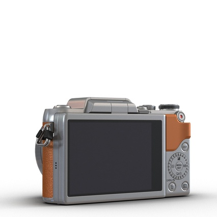 Panasonic DMC GF7 Brown. Render 8