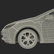 Generic Hybrid Car Rigged. Preview 98