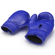 Boxing Gloves Blue. Preview 5