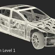 Tesla Model S Frame and Chassis. Preview 33