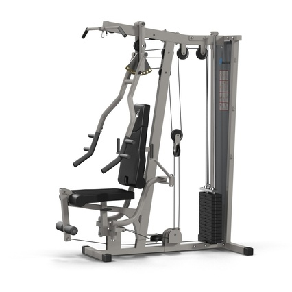 Weight Machine 2. Render 3