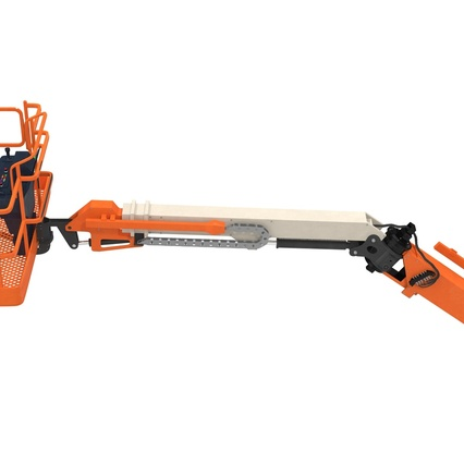 Telescopic Boom Lift Generic 4 Pose 2. Render 61