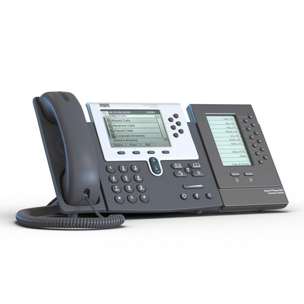 Cisco IP Phones Collection 6. Render 14