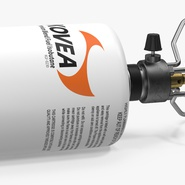 Gas Cylinder with Camping Stove Kovea. Preview 5