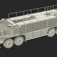 Oshkosh Striker 4500 Aircraft Rescue and Firefighting Vehicle Rigged. Preview 5