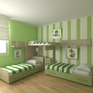 Childrens Bedroom. Preview 5