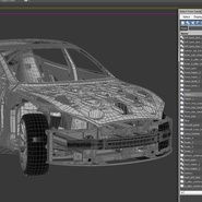 Tesla Model S Frame and Chassis. Preview 36