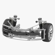 Tesla Model S Front Suspension