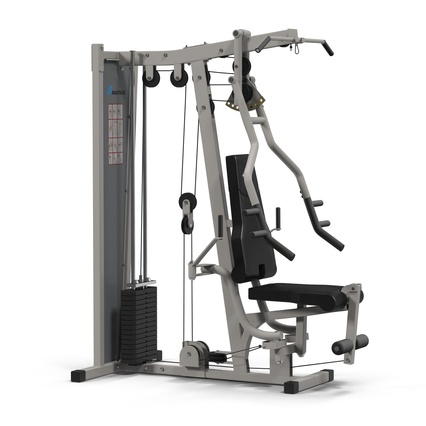 Weight Machine 2. Render 6
