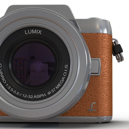 Panasonic DMC GF7 Brown. Render 36