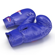 Boxing Gloves Twins Blue. Preview 10