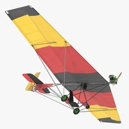 Ultralight Aircraft Chotia Weedhopper Rigged