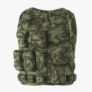 Military Camouflage Vest. Preview 3