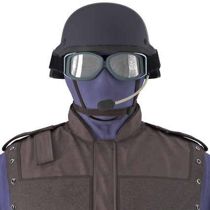 SWAT Uniform. Render 25
