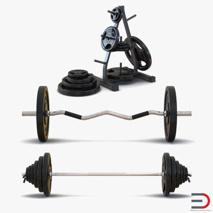 Barbells Collection 2. Render 1
