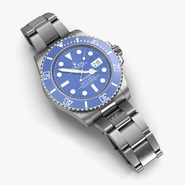 Rolex Submariner Date Blue Dial