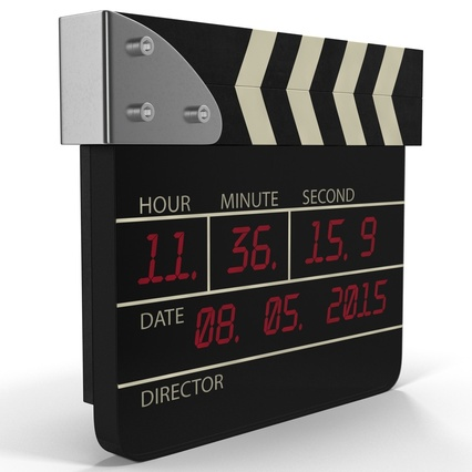 Digital Clapboard 2. Render 9