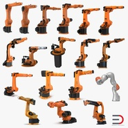 Kuka Robots Collection 7