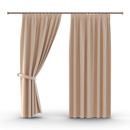 Curtains Collection. Render 18