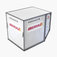 Airport Container Iberia Cargo. Preview 3