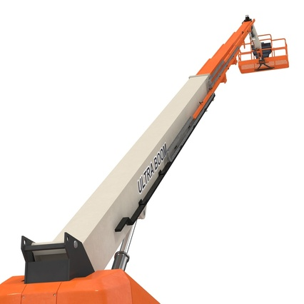 Telescopic Boom Lift Generic 4 Pose 2. Render 30