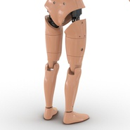 Male Crash Test Dummy Rigged for Cinema 4D. Preview 27
