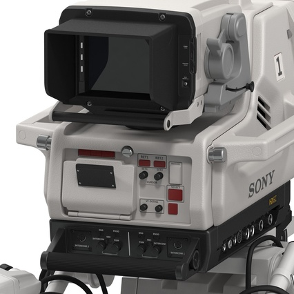 Professional Studio Camera DIGI SUPER 86II. Render 26