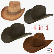 Old Cowboy Hats Collection