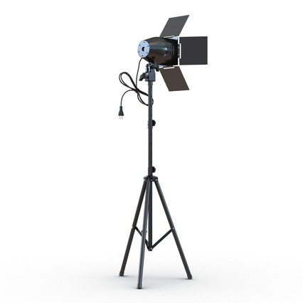 Photo Studio Lamps Collection. Render 20