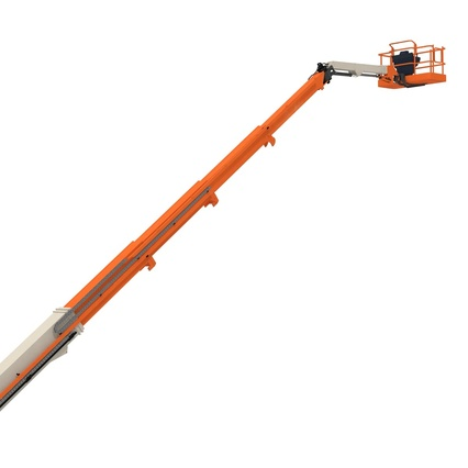 Telescopic Boom Lift Generic 4 Pose 2. Render 32