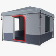 4 Person Cabin Camping Family Tent