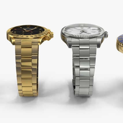 Rolex Watches Collection. Render 7