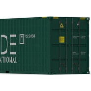 40 ft High Cube Container Green. Preview 18