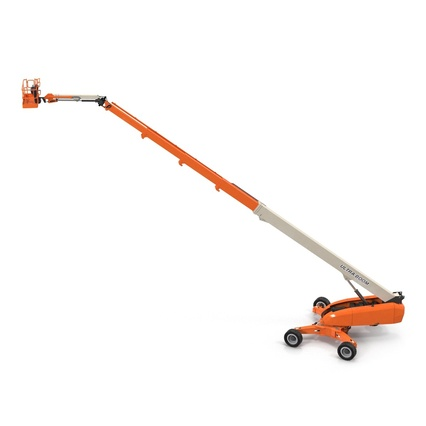 Telescopic Boom Lift Generic 4 Pose 2. Render 10