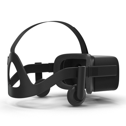Virtual Reality Goggles Collection. Render 40