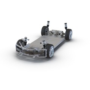 Tesla Model S Frame and Chassis. Preview 4