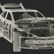 Tesla Model S Frame and Chassis. Preview 38