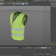 Yellow High Visibility Safety Jacket. Preview 13