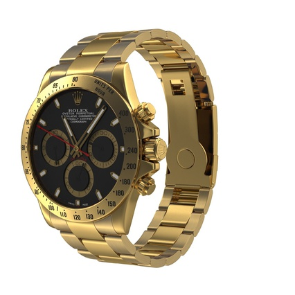 Rolex Watches Collection. Render 3