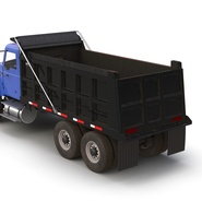 Dump Truck Mack Rigged. Preview 45