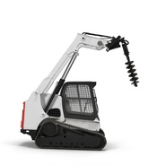 Compact Tracked Loader with Auger. Preview 22