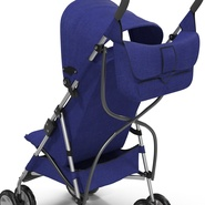 Baby Stroller Blue. Preview 21