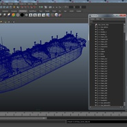 Gas Carrier Ship. Preview 29