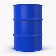 Oil Drum 200l Blue. Preview 5