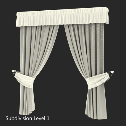 Curtains Collection. Render 61