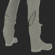 Zombie Rigged for Cinema 4D. Preview 69