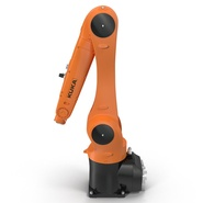 Kuka Robot KR 10 R1100 Rigged. Preview 9