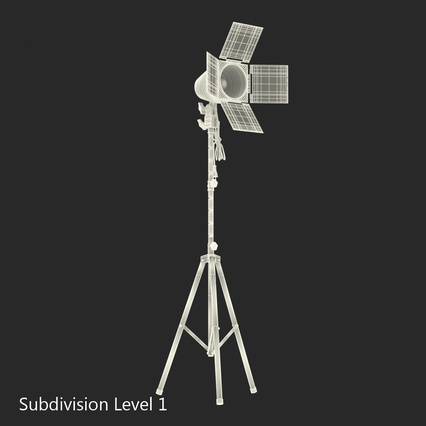 Photo Studio Lamps Collection. Render 62