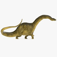 Apatosaurus Dinosaur Walking Pose